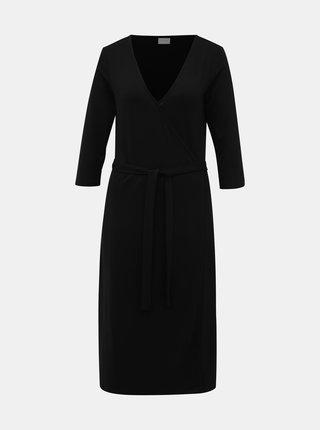 Černé šaty VILA Dell