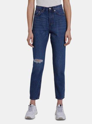 Tmavě modré dámské mom džíny Tom Tailor Denim