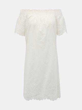 Bílé šaty s madeirou ONLY New