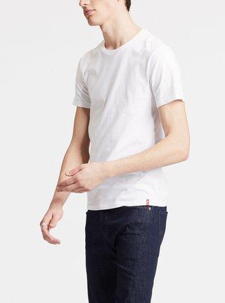 Sada dvou bílých pánských basic triček Levi's®