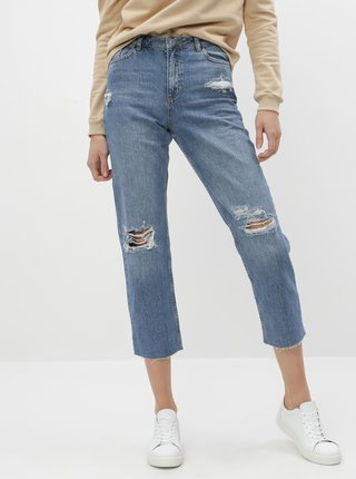 Modré straight fit rifle Miss Selfridge