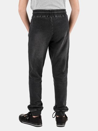 Tmavošedé dievčenské nohavice SAM 73