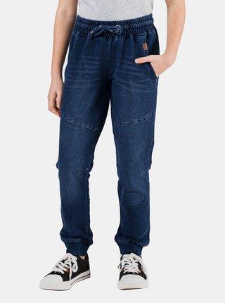 Tmavomodré dievčenské nohavice SAM 73