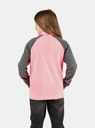 Neonovo ružová dievčenská mikina SAM 73