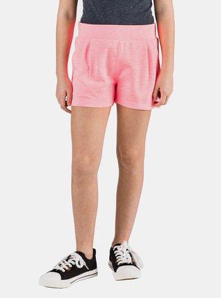 Neonovo ružové dievčenské kraťasy SAM 73