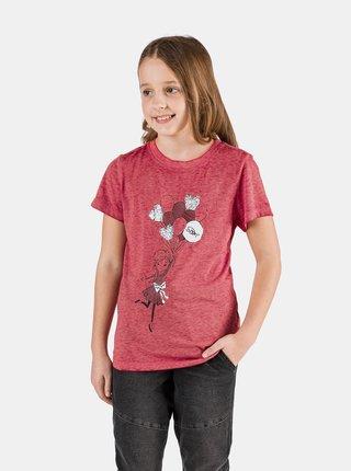 Červené dievčenské tričko SAM 73