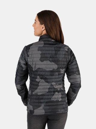 Tmavě šedá dámská prošívaná bunda SAM 73 Lorna