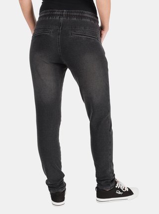 Tmavě šedé dámské kalhoty SAM 73