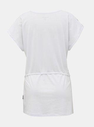 Bílé dámské tričko se zavazováním SAM 73