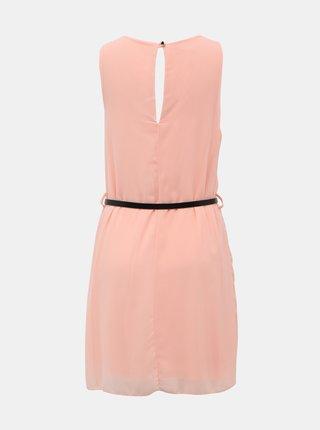 Ružové šaty s opaskom Haily´s Tanja