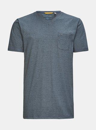 Šedé pánské pruhované tričko killtec Hadero