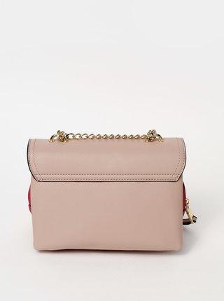 Růžová crossbody kabelka Gionni Damara