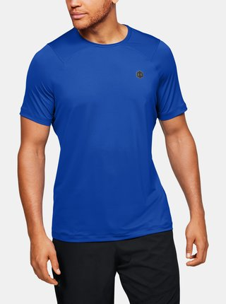 Modré pánské tričko Rush Under Armour