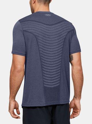 Modré pánské tričko Seamless Wave Under Armour