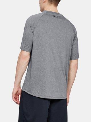 Šedé pánské tričko Tech Under Armour
