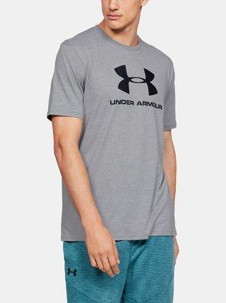 Šedé pánske tričko Sportstyle Under Armour