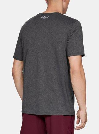 Šedé pánske tričko Big Under Armour