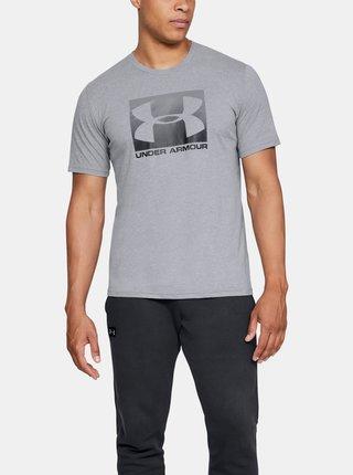 Šedé pánské tričko Boxed Under Armour