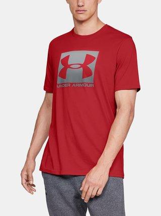 Červené pánské tričko Boxed Under Armour