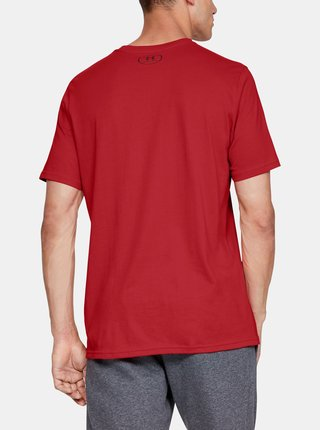 Červené pánske tričko Boxed Under Armour