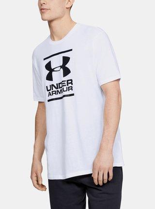 Biele pánske tričko Foundation Under Armour