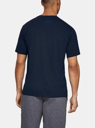 Modré pánske tričko Foundation Under Armour