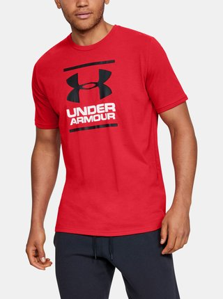 Červené pánské tričko Foundation Under Armour