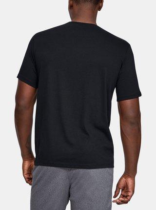 Čierne pánske tričko Foundation Under Armour