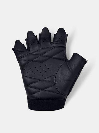 Čierné dámské tréninkové rukavice Under Armour
