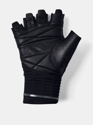 Čierne pánske vzpieračské rukavice Under Armour
