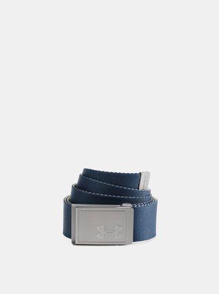 Modrý pánský oboustranný pásek Webbing Under Armour