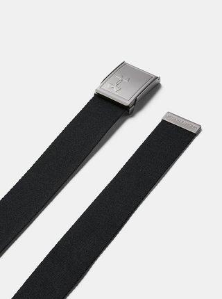 Černý pánský oboustranný pásek Webbing Under Armour
