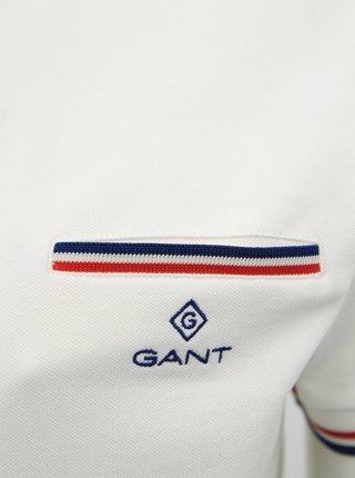 Krémové pánské polo tričko GANT