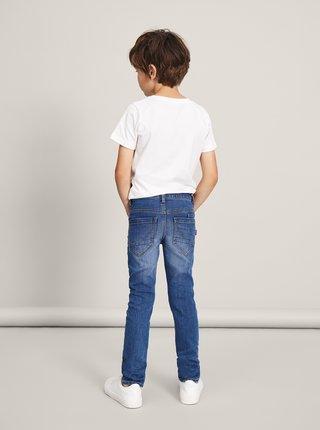 Modré klučičí slim fit džíny name it Theo