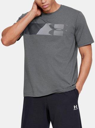 Šedé pánske tričko Fast Under Armour