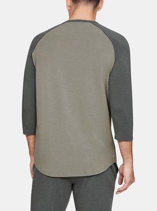 Zelené pánské pyžamové tričko Recovery Under Armour