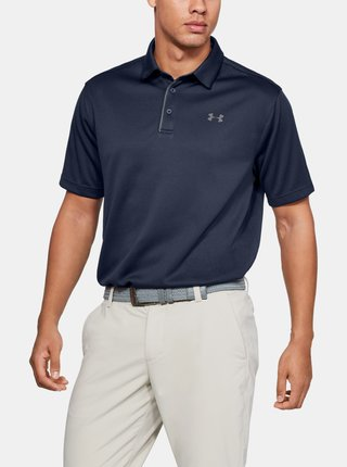 Tmavě modré pánské polo tričko Under Armour