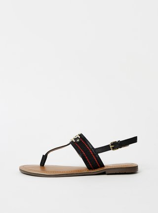 Čierne dámske sandále Tom Tailor