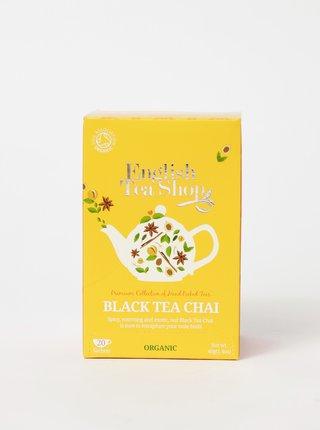 Bio černý čaj se skořicí, kardamonem, muškátovým květem, zázvorem a lékořicí English Tea Shop