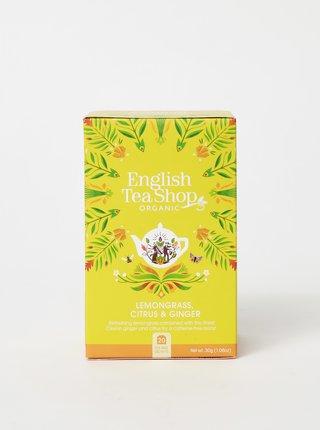 Čaj z citrónovej trávy, pomerančovej kôry a zázvoru English Tea Shop