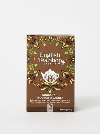 Bio bylinkový čaj s rooibosom, kakaom a vanilkovými luskami English Tea Shop