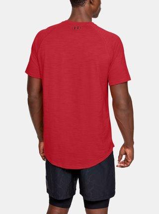 Červené pánske tričko Charged Under Armour