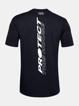 Černé pánské tričko PTH Back Under Armour