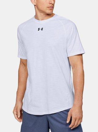 Biele pánske tričko Charged Under Armour