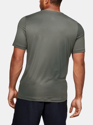 Zelené pánské kompresní tričko Rush Under Armour