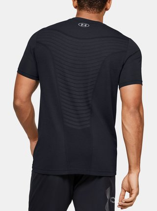Černé pánské tričko Seamless Wave Under Armour