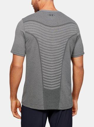 Šedé pánské tričko Seamless Wave Under Armour