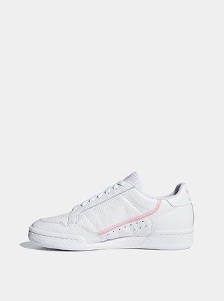 Biele dámske kožené tenisky adidas Originals