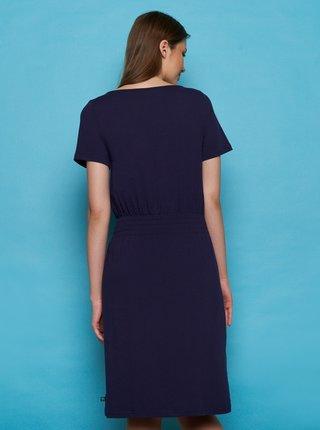 Tmavě modré šaty Tranquillo Darou