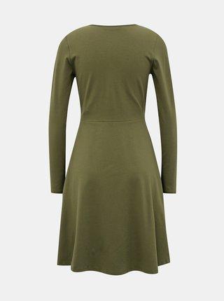 Zelené šaty ONLY Sally